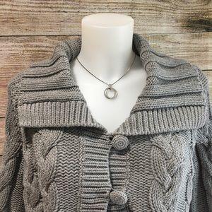 Grey Wool Sweater size XL - B-05